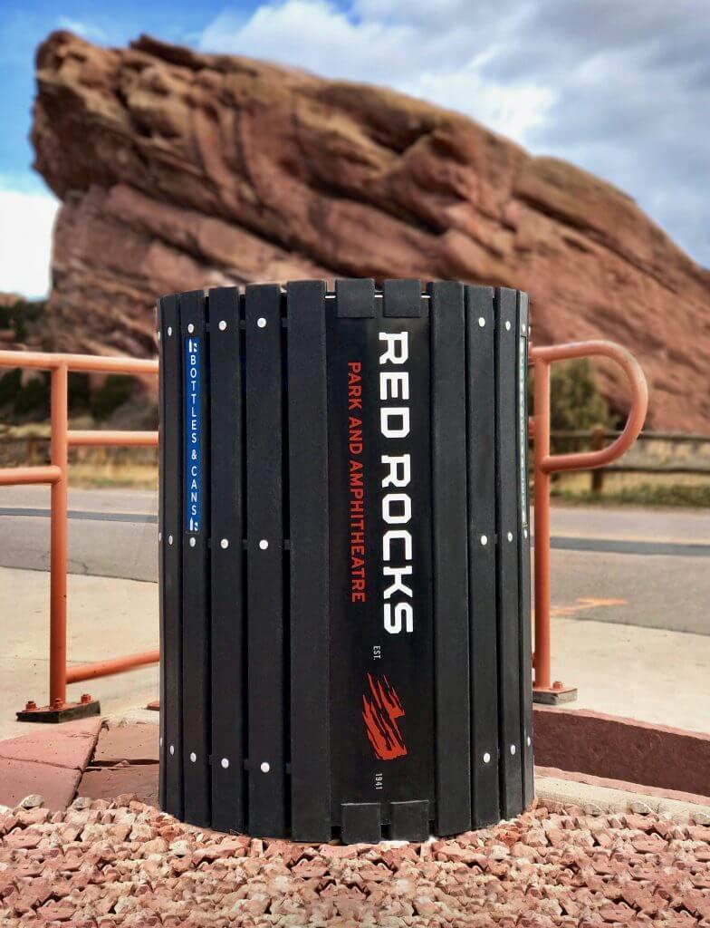 Red Rocks Amphitheatre Round Bin
