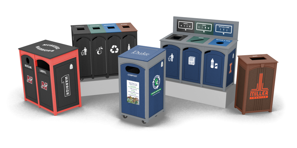 Verde Collection Waste & Recycling Bins