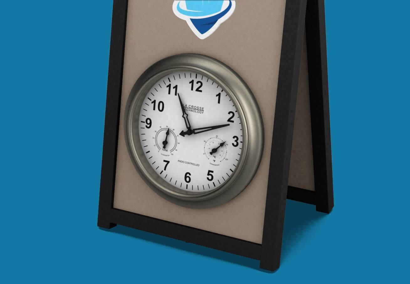 """18"""" Clock"""
